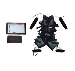 Gym Use EMS Muscle Stimulator Electrostimulation Fitness Machine Wireless EMS Training Suit Xems Gym Vest Electrostimulation