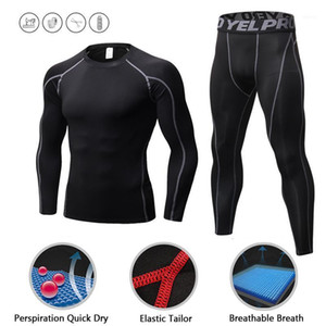 Sport Sets Men Running Shirt Bodybuilding Suit Compression Tights Rashgard Gym t Shirt Men Fitness Leggings Joggers Cycling1
