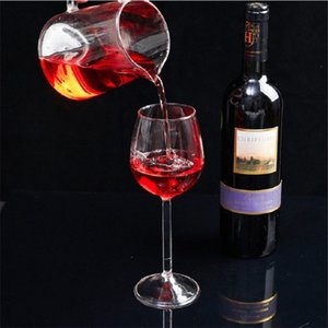 Personality Goblet Originality High Borosilicate Transparent Glass Lovely Shark Woman Man Drinking Wine Standing Cups 10 8ly K2