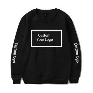 Sweat-shirt personnalisé Wamni imprimé à capuche à capuche à capuche personnalisé Sweat-shirt Coton Streetwear Vêtements Créwneck chauds Y201006
