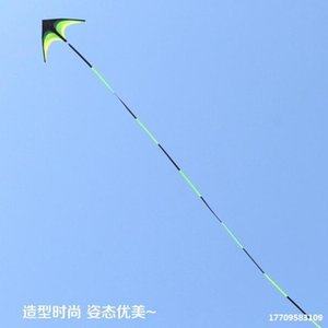 New style Weifang large prairie children's adult triangle easy to fly kite
