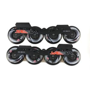Slalom Inline Skate Base 243mm Frames With 4*80mm Original Hyper +G Concrete Wheels 165mm Distance Basing Skating Patines