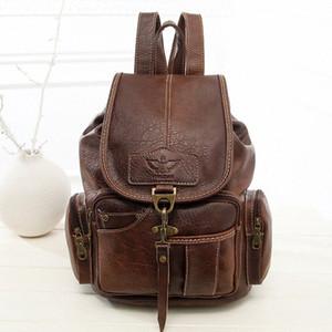 Женские Сумки ретро на плечо женский новый стиль сумки обувь мода Trend крюк женщин рюкзак студенты сумки производителя прямые q1xq #