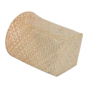 Waste Bins 1Pc Straw Woven Basket Household Laundry Bathroom Paper Container