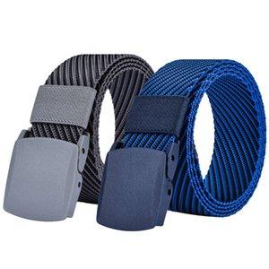 cake hot Designer High Quality Twill Jacquard Canvas Belts for Men Jeans Modeling Man Tactical Belt Cinto Masculino