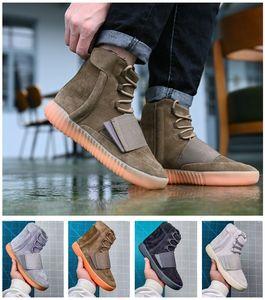 """2021 Blush Desert mouse 500 Classic Kanye West 750 Runner Brown Grey Gum shoes Triple Black Sneakers High Men Running Shoes EUR 36-46 """
