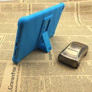 Yumuşak Silikon TPU Arka Kapak Ile Standı Için Huawei MediaPAD M3 Lite 8 8.0 CPN-W09 CPN-AL00 Tablet Kılıf Stylus Kalem 100 adet