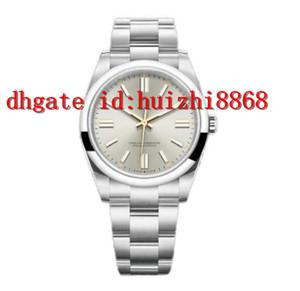 2021 Montre de Luxe Mens автоматическое оборудование Часы 41 мм из нержавеющей стали Супер светлые наручные часы мужские водонепроницаемые часы