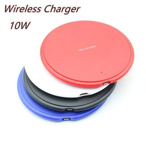 10W Fast Wireless Charger USB Charging Pad For iPhone 12 mini 11 Pro XS Max XR X 8 Plus S10 S9 S8 S7 Edge Note 10 with Retail Box