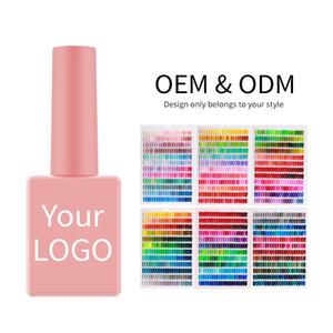 5000 Цвет УФ Гель Хорошая Текстура Быстрая Сушка Долговечный Бесплатный Образец Замачивания LED15ML Набор для ногтей