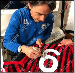 Inzaghi 2011 12 any team any player Signed signatured Autographed shirts