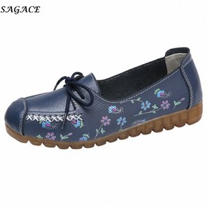 Sagace 2020 Новые Женские Удобные Низкая Плоская Обувь с Напечатанным Повседневная Обувь Плоский Высокое Quality ATDOOR Support 25SV #