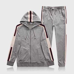 Designer Designer Mens Tracksuit Felpa con cappuccio Felpe Black Bianco Autunno Autunno Inverno Jogger Sporting Suit Uomo Sweat Tracksuits Set Plus