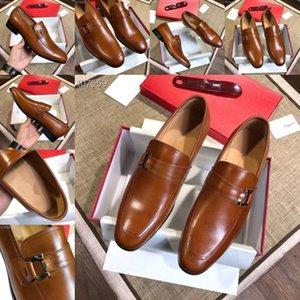 Q4 2019 Nuovo diamante punta a punta scarpe in oro argento scarpe in pelle piatta uomo paillette moda mens in pelle doug Loafer designer designer scarpe da bagno 11