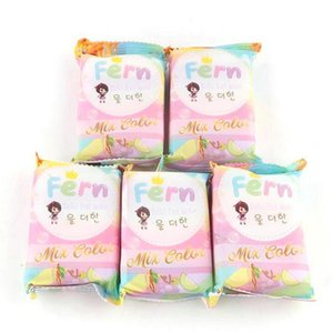 retail hot 010 OMO Handmade Soap Gluta Rainbow Brand New Arrivals White Plus Mix Color Five Bleached Skin
