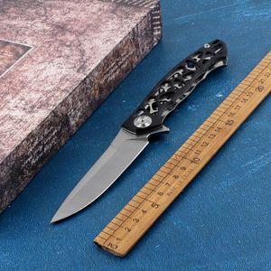 New 8Cr13 folding knife G10 blade + steel handle portable pocket kitchen knife outdoor camp survival hunting fruit knife tool
