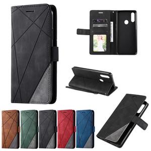 Étui de téléphone en cuir polyvalent spécial pour OPPO A53 A31 A31 A9 A5 A5 A5 A5 A73 A52 A72 A92 A32 A53S A8 A12 Portefeuille