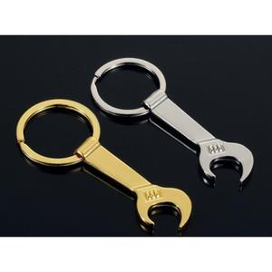 New 8.5*3.2cm Tool Metal Wrench Spanner Lever Bottle Opener Key Chain Keyring Gift Si jllNAm xmh_home