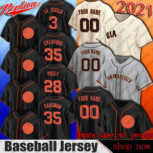 SAN 28 BUSTER POSEY 35 Brandon Crawford Jersey Francisco Kevin Gausman Brandon Band Jerseys Evan Longoria Madison Bumgarner Mike Yastrzemski