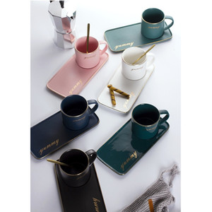 Retro Cups Palette Originalität Keramik Trinkwasserwerkzeuge Kaffee Brille Frau Mann Tray Tumblers Haushaltszubehör 22Bk K2