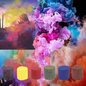Colorful Effect Smoke Tube Bottle Studio Car Photography Toy Wedding Halloween For Party Stage Studio Magic Fog Smokes Cake Gift