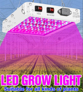 LED Grow Light Waterproof Phytolamp 2835 Leds Chip Phyto Growth Lamp Full Spectrum Plant Lighting For Indoor Plant