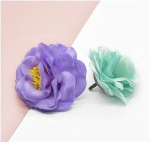 10pcs Stamen Peony Wedding 휴가 용품 장식 꽃 화환 사탕 상자 브로치 모자 크리스마스 장식 Qyldpg