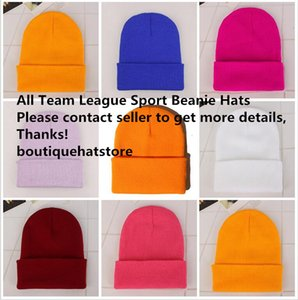 Designers 2021 New Arrival Boston All Team Baseball Sports Knitted Beanies Good Quality Winter Warm Skull Hats Pom Cuff Beanie