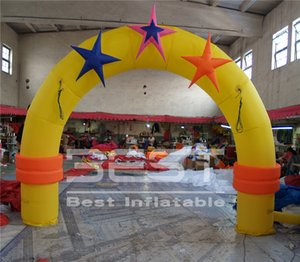 4m wide hot sale inflatable circus arch game decoration kid events