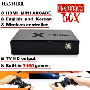 Pandora PS1 box 3D mini arcade console 3160 in 1 video game moonlight treasure box 2D retro game 3D game box