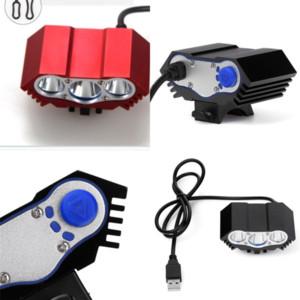 Brand Designer 2 ألوان Solarstorm X3 6000 Lumen Cree Bike Light 3 LED Lanterna T6 دراجة الجبهة البطارية حزمة دراجة أضواء 50 قطع 17 W2