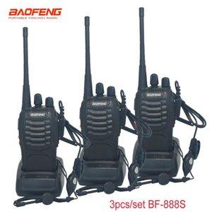 Walkie Talkie 3 Pcs set Baofeng BF-888S 5W 16CH Portable Radio Station