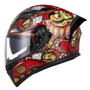 Motorcycle Helmets JIEKAI Helmet Men Full Face Moto Riding ABS Material Motocross Motorbike ECE Certification Casco
