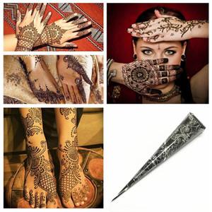 1Pcs Indian Henna Tattoo Paste Cone Body Paint Temporary art Mehndi body Sticker Tattoo Paint Body Henna Mehndi