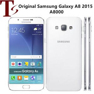 Refurbished Original Samsung Galaxy A8 A8000 Unlocked Cell Phone Octa Core Rom 16GB 32GB 16.0MP 5.7 Inch Dual Sim 4G LTE