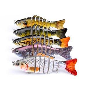 Outdoor artificial fishing lure 10 cm fishing bait artificial knotty fish artificial hard lure trolling carp fishing tool