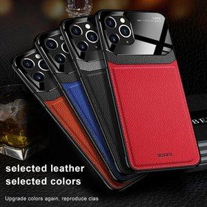 Caja de cuero elegante de clase alta Protege la cubierta de prueba de choque para iPhone 11 Huawei P40PRO SAMSUNGS20 One Plus Oppo Xiaomi