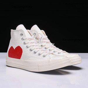 1970 Juega a los ojos grandes Juegue los zapatos de lona Nombre conjuntamente Sneaker Skateboard Hombres Mujeres Classic Fashion Mens Casual Skate Shoes Tamaño 36-44