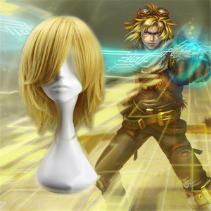 LOL The Prodigal Explorer Ezreal Cosplay Wig + Free Hair Cap