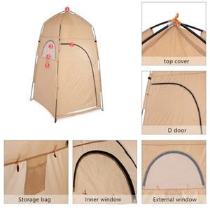 Tomshoo Portatile Doccia esterna Bagno Cambio Camera Stanza Tenda Rifugio Camping Beach Privacy Toilette 158 W2