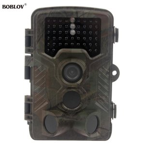 Boblov H801W 12Degree Trail Hunting 스카우팅 고스트 비디오 카메라 야외 농장 보안 12MP 모션 65ft 야간 투시 방수