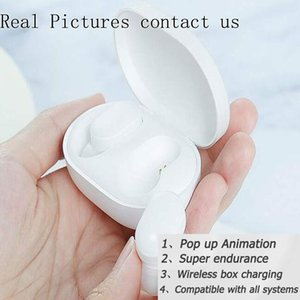 GPS Rename A2 A3 Air Tws Bluetooth Earphone Earbuds H1 Chip Headphones Wireless Charging Case Pods PK Air 2 3 Pro i12 i500 i2000