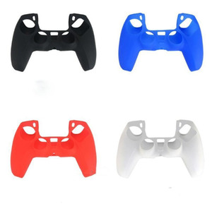 4 Colors Soft Protective Cover Silicone Case Skin for Playstation 5 PS5 controller Gamepad Protector Anti-Slip Cap