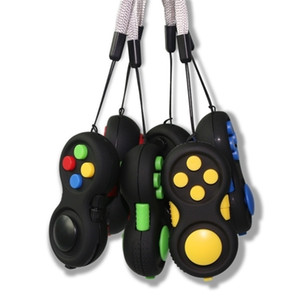 Fidget Pad Hand Shank 4th Generation Game Controller Squeeze Finger Toys Kids Adult Fun ADHD Anxiety Depression Stress Relief Handle H34IX0C