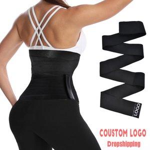 Женские формирователи AICONL Талийский тренер Corset животик Tummy Wrap Fajas Slim Beet Control Body Shaper Modeling ремешок Cincher