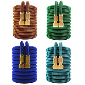 16-150FT Irrigation Water Expandable High Pressure Car Wash Plastic Pipe Flexible Magic Hose Garden Watering Tools