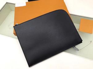 M80044 Pochette Jour GM N64437 Designer Mens embreagem de Viagem Laptop Tablet Tablet Documento Titular Portfólio Case Capa Saco de Capa Accessoires PM