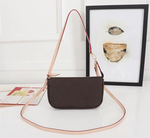 High Quality New Fashion Designer With box Handbags Purses POCHETTE ACCESSORIES Bag Women Classic Style Genuine Leather Shoulder Bags
