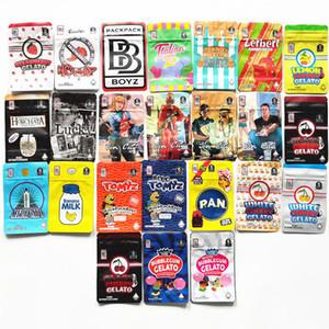 HotBackPack Boyz Black Cherry Bubblegum Gelato Tomyz Merzcato Gelato Banana Leche Pan Red Azul Tomyz Bolsos Backpackboyz con holograma pegatinas