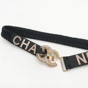 Chan xiangnai a diamond small pearl elastic belt soft sheepskin leather dress windbreaker coat waist cover